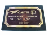 custome-bronze-memorial-marker-on-black-granite-base