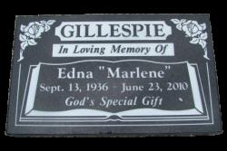 GILLESPIE-Edna