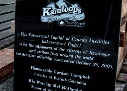 Kamloops Tournament Plaque