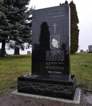 Granite Upright Headstone