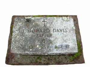 H. Davis - Before