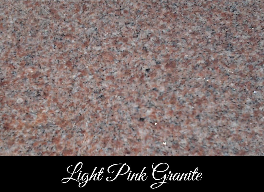Light Pink Marble : Headstones grave markers bc stewart monumental works ltd