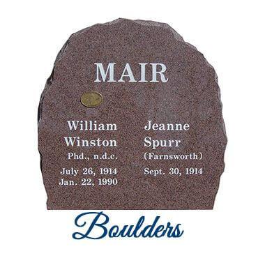 Memorial Boulders