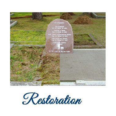 Public Memorials and Restoration